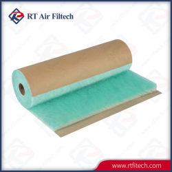 preço de fábrica de fibra de filtro de paragem de pintura do piso da cabine de spray de tinta do Filtro de Admissão