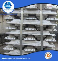 La fabbrica fornisce 99.7% lingotti di alluminio puri
