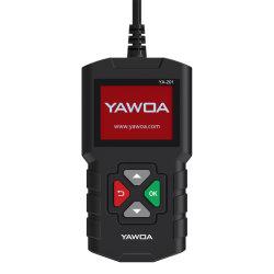 Aggiornamento automobilistico del lettore di codice del motore Ya201 dello scanner Ya-201 OBD2 tramite strumento diagnostico PK Nt201 Al319 OBD 2 del USB dell'automobile lunga di vita