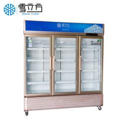 preço de fábrica exibição comercial fornecedores vitrina frigorífica