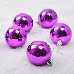 Regalos de Navidad bola púrpura acrílico