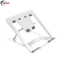 La mode en alliage aluminium détenteur de l'ordinateur portable ordinateur PC Support en métal pour 11-17,3 pouces Tablet stand pliable réglable