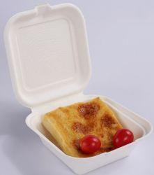 Wegwerfmittagessen-Kasten-Nahrungsmittelkasten-Mitnehmerkasten-Papierfilterglocke-Packpapier-Kasten