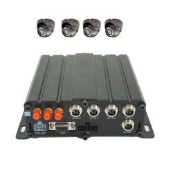 4CH Truck Fleet Vehicle sorveglianza di visione remota 4G Mobile DVR