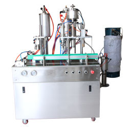 Los insecticidas en aerosol automático del asesino de mosquitos Spray Máquina de Llenado de pulverización de plaguicidas