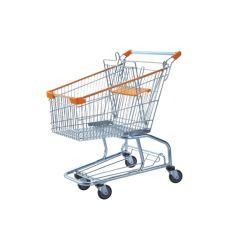 Eccellente qualità 80L American Style Supermarket Trolley