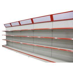 スーパーマーケットのゴンドラの表示Pegboardの単一の棚