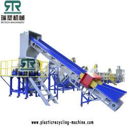 Afval Landbouw Greenhouse dekking Film wassen Recycling machine/lijn/fabriek
