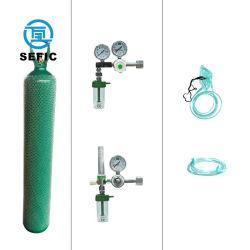 De naadloze Cilinder van de Zuurstof van de Tank van de Zuurstof van het Staal 50L