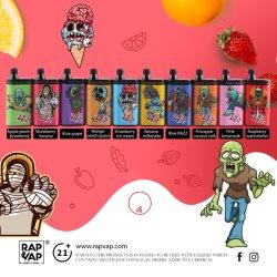도매 Rapvap 4000 Disposable Vape Box Mod Zombies Disposable Vape 펜 E 담배
