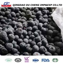 OEM offre de service de la fabrication des aliments congelés de bleuets frais fruits congelés en vrac de fruits biologiques