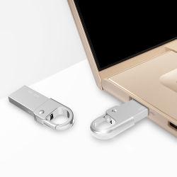 Unidad flash USB 2.0 personalizados Llavero de 4GB 8GB 16GB 32 GB de 64GB Pendrive USB Stick Metal