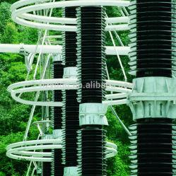 Línea de Alta Tensión Interruptor de desconexión con el interruptor de puesta a tierra