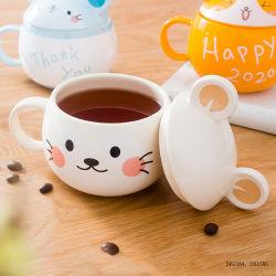 L'eau domestique personnalisé tasse tasse en céramique de bande dessinée d'animaux de l'eau mug