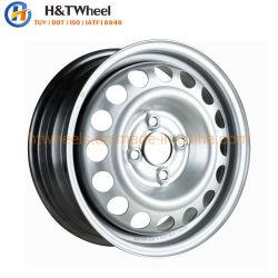 H&T 454204 колеса 14X5.0 PCD для настольных ПК 4X100 хороший биение 14 дюймовый стальной автомобиле колесных дисков