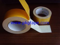 A cassete de tecido de dupla face, alcatifa lateral duplo tape