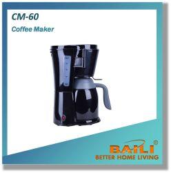 أدوات المطبخ آلة تحضير قهوة مانعة للتقطير سعة 1.0لتر مع دورق زجاجي