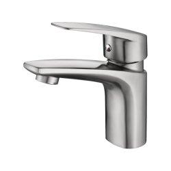 304 스테인리스 단 하나 손잡이 현대 Hot&Cold 물 증거 물동이 또는 목욕탕 물 증거 꼭지 믹서 정밀도 주물