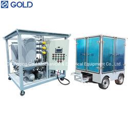 3000L/H 이중 새지 진공 변압기 오일 청정기 단열용 오일 재활용 기계