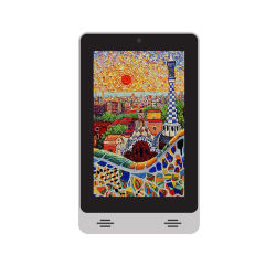 Маленький 7 дюймовый портрет Android Tablet PC рекламы плеер с технологией Bluetooth/BT/WiFi