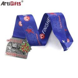 Spitzenverkaufs-Fertigkeit-Preis-Leerzeichen-Sporttaekwondo-Medaille mit Medaillen-Farbband