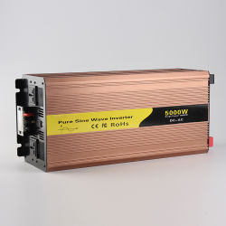 Преобразователи DC/AC off Grid Чистая синусоида солнечная энергия инвертора DC 12V/24V/48V AC110V/220V 5000W