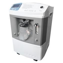 Périphériques d'oxygène à haut débit de la santé de l'équipement électronique médicale Oxigeno Concentrador de 5L
