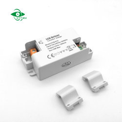 Mini de tension constante Driver de LED en plastique IP20 12W 12V 1A Alimentation en courant 12 volt 1000mA Driver de LED avec ce certificat TUV FCC etl'ASA