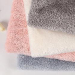 제조업체 멀티 컬러 100% 폴리에스테르 이중 면 Shu velveteen 니트 직물 플러쉬 플리스 직물 매우 부드러운 긴더미의 메탈릭 슈 velveteen Fleece Fabric