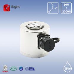 T501 Tri-Axial personnalisée Cellule de charge (capteur de force 3 composants)