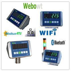 電子スケールのステンレス鋼の表示器、表示器の重量を量るデジタルスケール