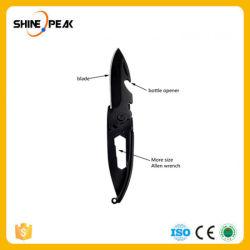 다중목적 칼 열리는 Peeler 껍질 소포가 옥외 소형 Keychain 다기능 다중 공구 키 포켓 편지 야영지에 의하여가 껍질을 벗긴다