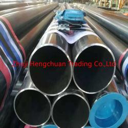 Transportador de barniz negro o el tubo de acero Tubo de acero inoxidable con estructura de acero