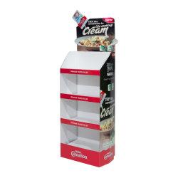 Salsa de pasta de papel cartón piso POS Pop estante Expositor
