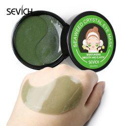 Custom 100% orgânicos naturais Aloe Vera Gel de Sono Tratamento Patch círculo escuro sob máscara de olhos verdes