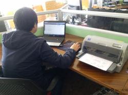 Le projet de loi de l'imprimante de fabrication de fabrication du tuyau