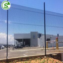 PVC de 4 mm galvanisé Treillis Soudés 358 mur de clôture, vue dégagée Anti escalader la clôture de sécurité