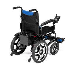 Seguridad de aluminio ligero sillas de ruedas eléctrica motorizada