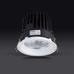 طاقة عالية 15 واط/20 واط/25 واط IP44 LED ثابت دائري من COB ضيّق مصباح LED منخفض داخل الكسوة للإضاءة الداخلية