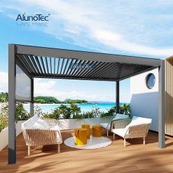 Hot Sale Luxe Aluminium zonnedak Outdoor House Factory beuken Grijs Waterproof Carport Balkon Pergola Luifel Patio deksel Canopy dak Pergola's Gazebo