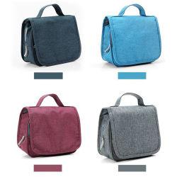 Preiswerter reiner Farben-beweglicher Arbeitswegtote-Wäsche-Speicher-Beutel-täglicher Gebrauch-kosmetischer Beutel mit Haken