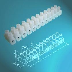H Tipo 12 postes de bloque de terminales de plástico con CE