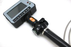 D'INSPECTION video endoscope industriel caméra avec lentille de caméra de 2,8 mm, 1,2 m de câble de travail, des articulations de pointe à 4 voies