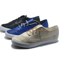 2017 Hommes cuir PU Fashion toile chaussures de sport chaussures occasionnel