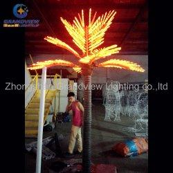 Falso tronco Artificial decorativo Palm LED de 2,5 m de la luz de la Palmera 2015 Nuevo producto