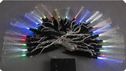 luces ópticas de la cadena de fibra de los 3m 30lt LED