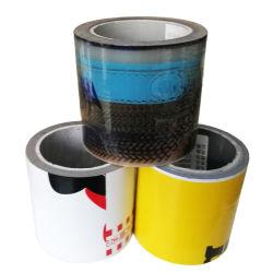 Black-White/azul/transparente de cola da película de protecção de superfície de PE