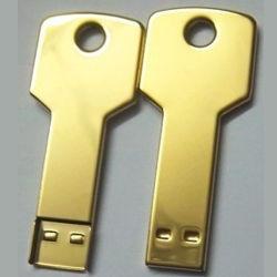 金キーUSBのフラッシュ棒2GB 1GB 4GB 8GB 16GB 32GBのギフト