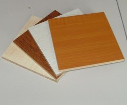 Hölzernes Grain/Solid Color Melamine Blockboard für Wordrobe/Furniture (w18006)