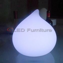 防水LEDの庭装飾的なランプの卵の整形気分ライト